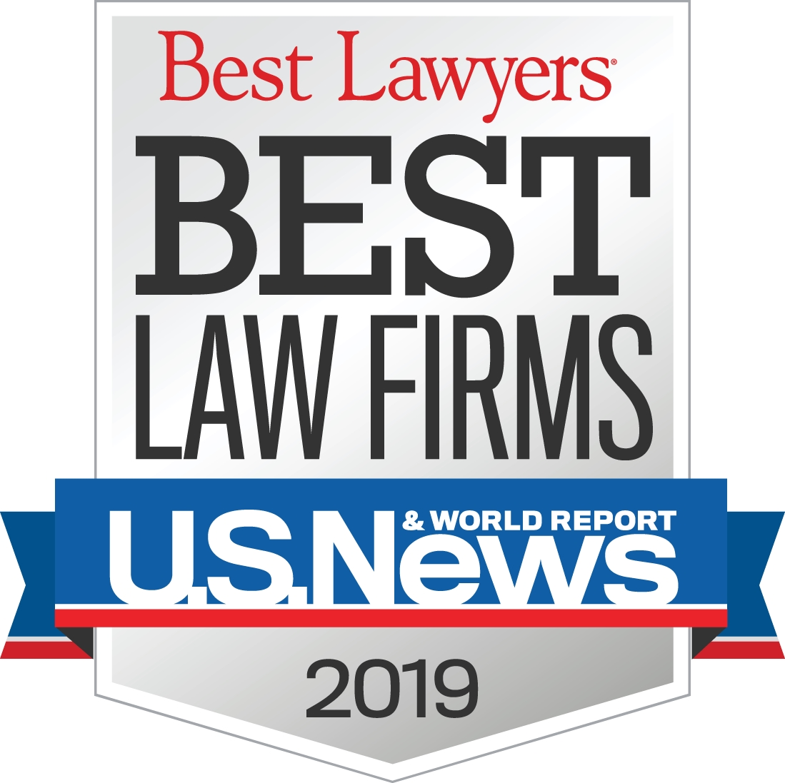Our Phoenix law firm was voted Best Law Firms 2019 by Best Lawyers and U.S. News & World Report